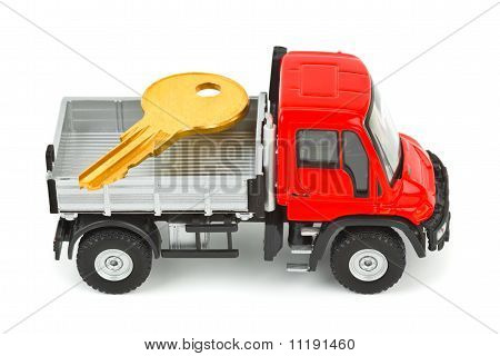 Toy Car Truck With Key