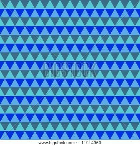 Abstract Blue And Gray Geometric Seamless Pattern