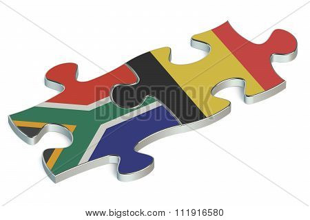 Belgium And South Africa Puzzles From Flags