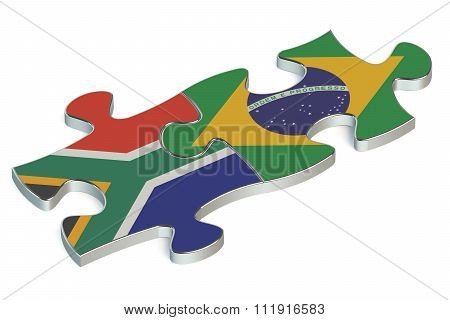 Brazil And South Africa Puzzles From Flags