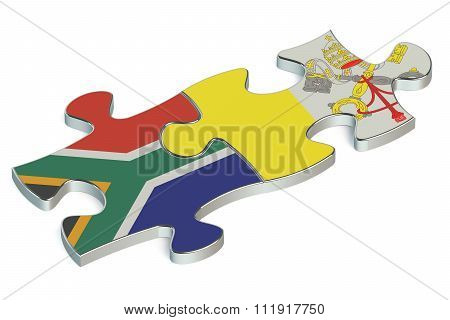 Vatican And South Africa Puzzles From Flags
