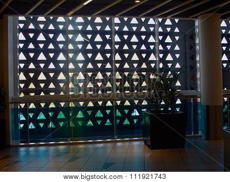 Metal Iron Rust Decorative Wall