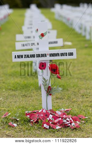 ANZAC Rememberance Crosses