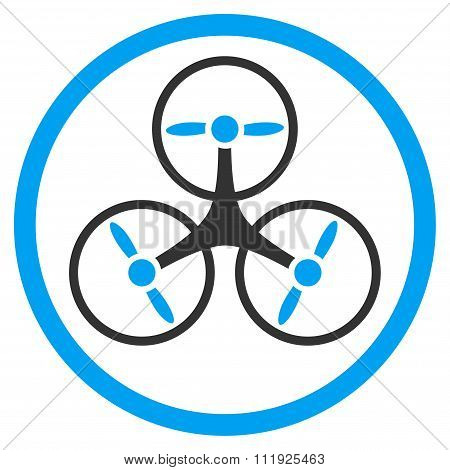 Tricopter Rounded Icon
