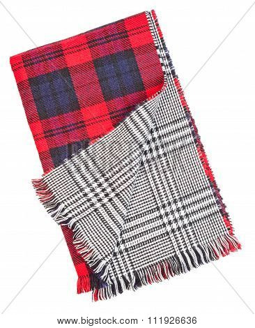 Wool Red Tartan Plaid