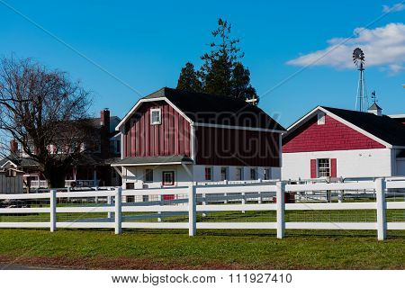 Farmhouse And Stables