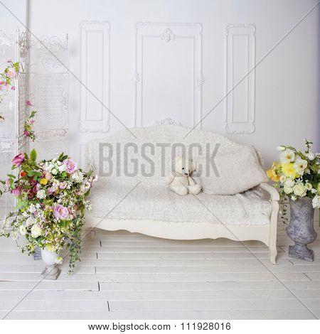 photo Studio interior without people
