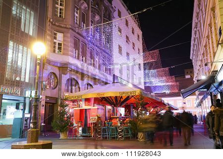 Advent In City Of Zagreb