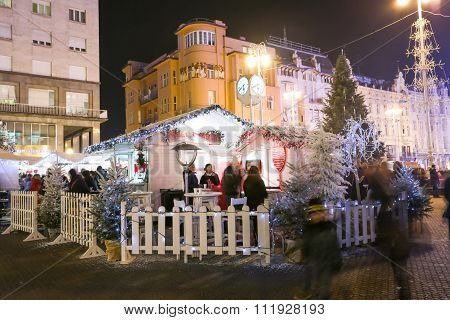 Advent On Jelacic Square