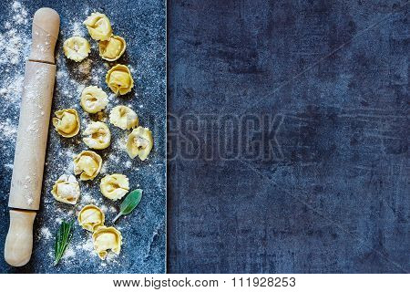 Homemade Raw Tortellini