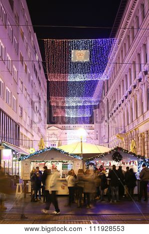 Advent Time In Zagreb