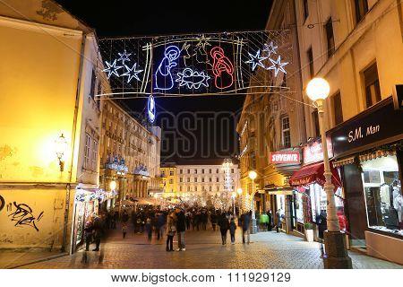 Christmas Nursery Decoration In Zagreb