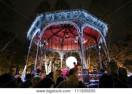 Music Pavilion On Zrinjevac