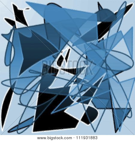 Cubism style draw