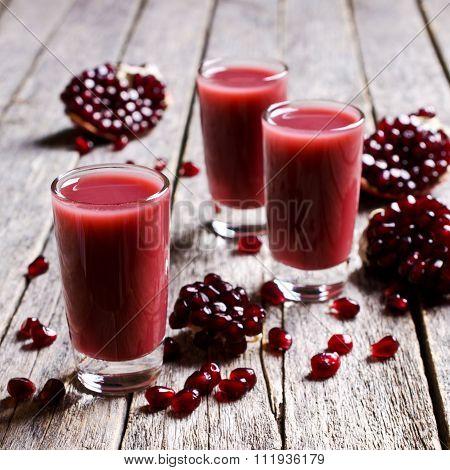 Pomegranate Liqueur With Cream