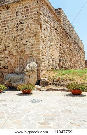Venetians Lion Near Famagusta Fortress, Cyprus