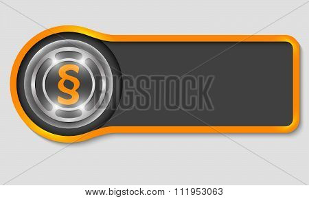 Paragraph symbol