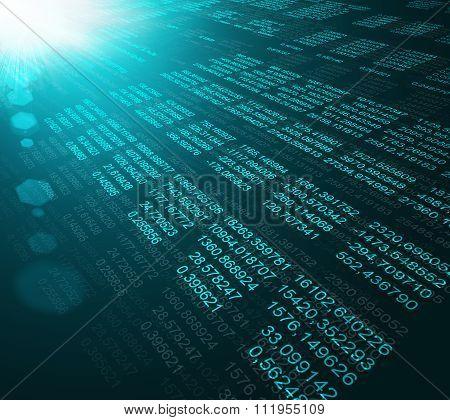Modern display of data source code