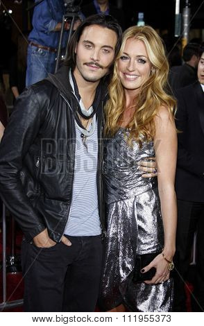 Cat Deeley and Jack Huston at the Los Angeles Premiere of