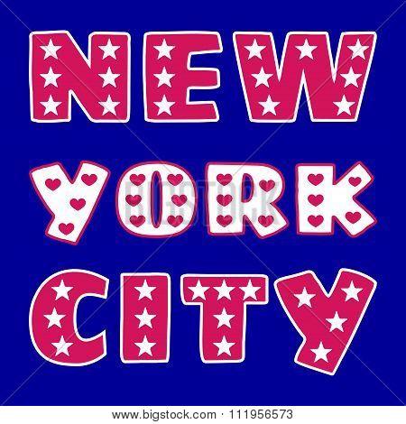 T-shirt Ny City
