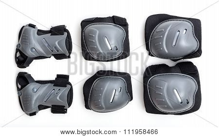 Set Of Joint Protectors For Speed Sports