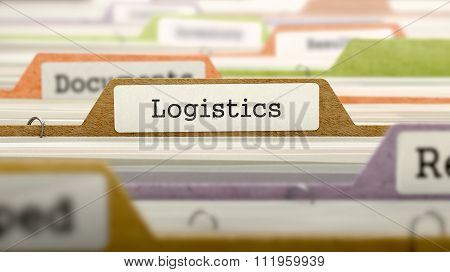 Logistics - Folder Name in Directory.