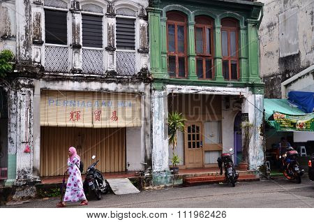 Buildings In George Town Unesco World Heritage Site