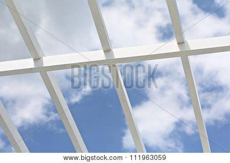 Lath and sky