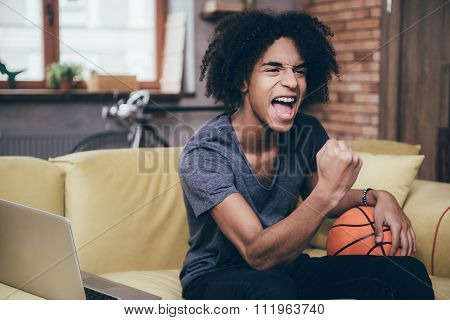 Basketball Fan.