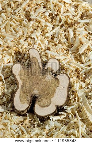 Wood Block On Chips