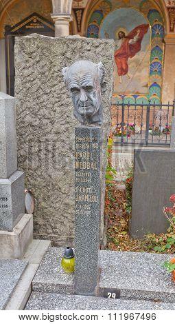 Composer Karel Nedbal Tomb In Vysehrad Cemetery, Prague