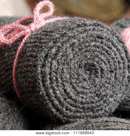 Yarn Scarf, Accessory, Wintertime, Handmade Gift