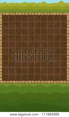 Game Field And Background