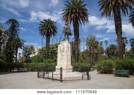 Founder Monument in Salta, Argentina