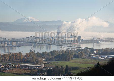 Longview, Washington State, Mount St. Helens