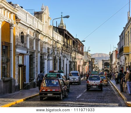 Street View In Arequipa, Peru