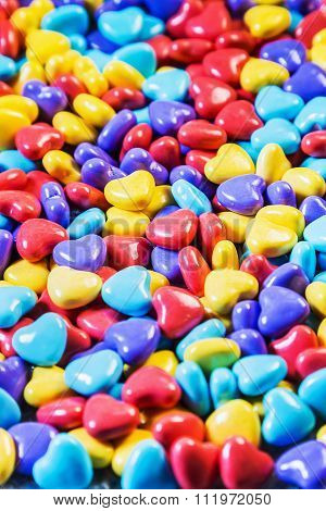 Background Of Colored Chewing Gum