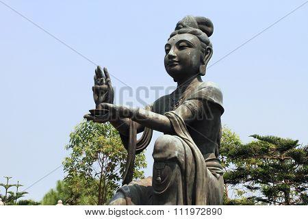 Bodhisattva at Po Lin Temple