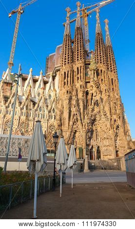 Sagrada Familia, Cathedral Designed By Gaudi