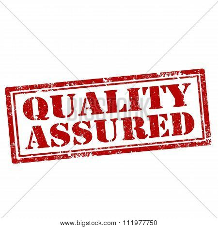 Quality Assured-stamp