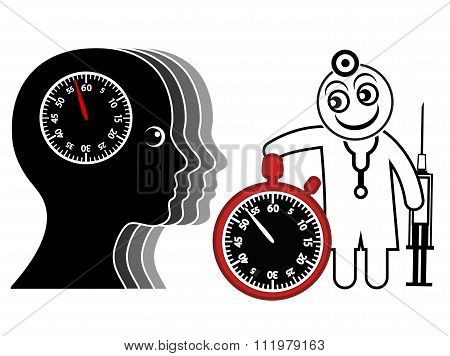 Time Pressure For Doctor And Patient