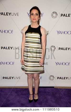 LOS ANGELES - DEC 14:  Zoe Lister-Jones at the An Evening with