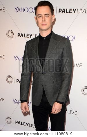 LOS ANGELES - DEC 14:  Colin Hanks at the An Evening with