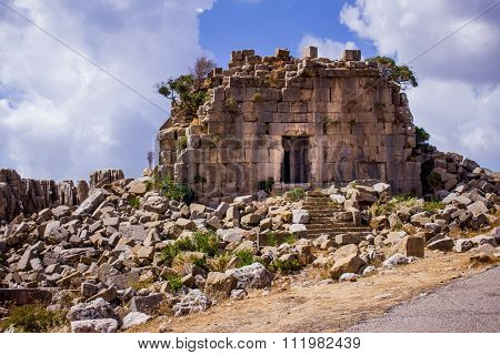 The Roman Ruins at Faqra, Lebanon, Middle East