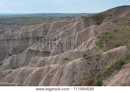 Badlands Environment Transition