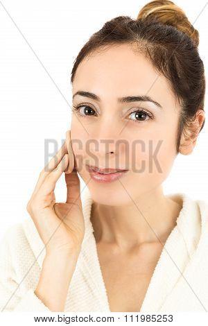 Make Up Woman Close Up