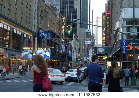 44th Street NYC Theater District