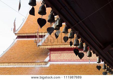 Heart Bells In Temple