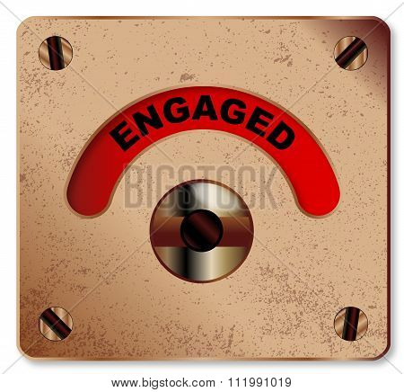Loo Engaged Indicator