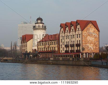 Fish Village in Kaliningrad